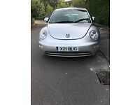 X21 BUG - 2000 VW Beetle 2.0 Litre. 12 Months MOT, Heated leather seats, electric windows & sunroof