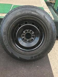 Bridgestone P235/75/R14 - 108S M+S tire $50.00 obo Edmonton Edmonton Area image 2