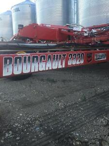 76' Bourgault 3320 XTC air drill