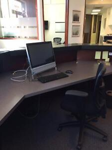 Main Street Furnished Office + Reception & Boardroom for Rent