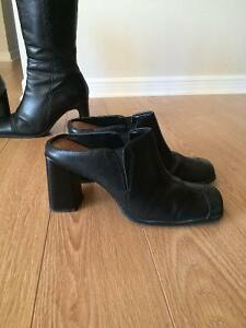 Aldo leather shoes and boots
