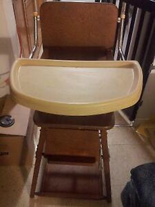 Antique High Chair free