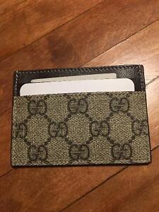 Gucci Supreme Card Case