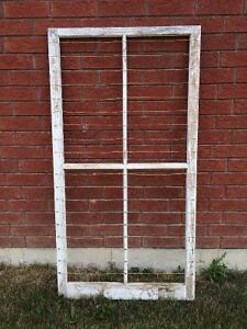 Beautiful Old Window Frame - wedding Kawartha Lakes Peterborough Area image 1