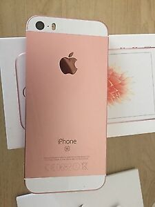 Brand new Iphone SE pink gold 16gb trade for Samsung s6,s7