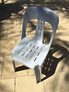 Outdoor plastic chairs Dianella Stirling Area Preview