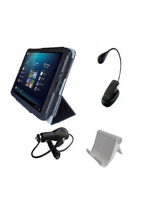 Case, Book Light, Stand, and Charger Bundle