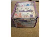 Bambino Mio Miosoft reusable nappy birth to potty pack