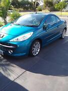 2007 Peugeot 207 Convertible Munno Para Playford Area Preview