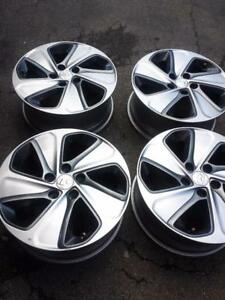 BRAND NEW TAKE OFF 2016  HYUNDAI SONATA FACTORY OEM  17 INCH ALLOY WHEEL SET OF FOUR.