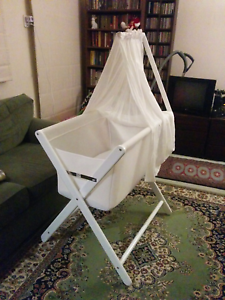 Mother's Choice Coco Air Mesh Flow Bassinet in white Brunswick East Moreland Area Preview