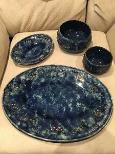 4 Ceramic Dishes by Marie-Andree Benoit West Island Greater Montréal image 1