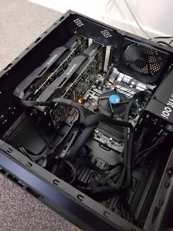 Dual Gigabyte Nvidia GTX1070 - CRYPTO Mining Machine