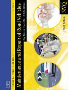 Maintenance and Repair of Road Vehicles Level 2: Vehicle Maintenance-ExLibrary