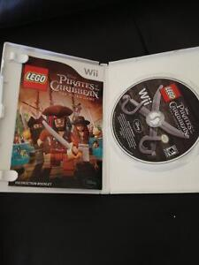 WII LEGO PIRATES OF THE CARIBBIAN GAME FOR SALE Stratford Kitchener Area image 1