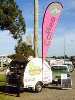 MOBILE COFFEE VAN / MARKETS / SPORTS DAYS / CAR SHOWS