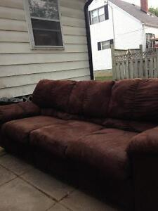 7 foot couch Peterborough Peterborough Area image 1