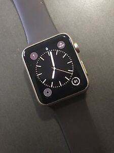 Apple Watch 2 Series 1 42mm Gold Aluminum LIKE NEW with WARRANTY