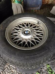 "BMW 16"" rims for sale off 2000 BMW 540i"