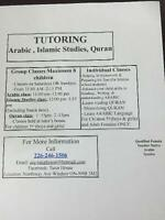 Tutoring/Arabic,Islamic Studies,Quran
