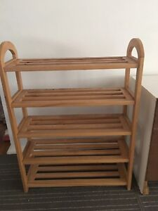 Shoe rack Cronulla Sutherland Area Preview
