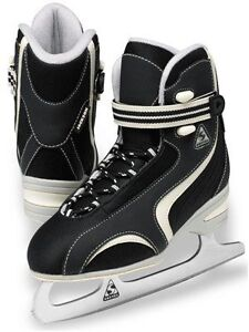 Jackson Softec Classic ST2200 Ladies Skates - Black - size 4 Kitchener / Waterloo Kitchener Area image 1