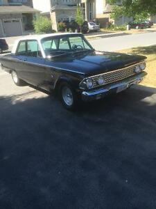 1962 Ford Fairlane, 2 door post