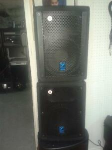 SPEAKERS AMPLIFIES YORKVILLE ELITE E10P.SUB LS720P.MIXER
