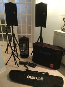 Système audio ptofessionnel  Fender PD 250 Plus