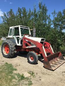 Case 970 Tractor with 707 Leon loader