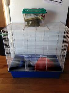Hamster/Rat cage and accessories