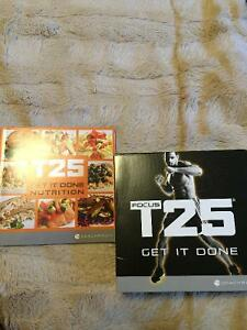 T25 workout and nutrition guide by Sean t