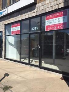 Store front commercial space for lease