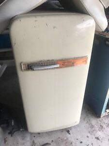Classic vintage fridge man cave retro Westinghouse