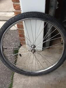 """26"""" inch bicycle wheels - priced to sell"""