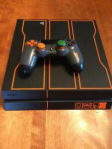 PS4 Black Ops III Edition console and games
