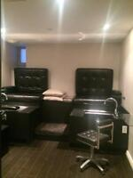 FOR RENT: Esthetic Room Space in Hair Salon for Esthetician