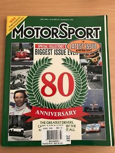 MotorSport 'special collectors edition' 80th anniversary Isaacs Woden Valley Preview
