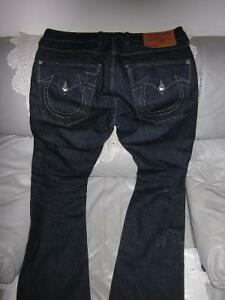 AUTHENTIC MEN TRUE RELIGION RICKY JEANS SIZE 34