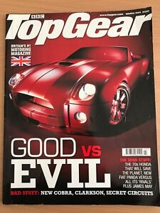 TopGear March 2004 issue Isaacs Woden Valley Preview