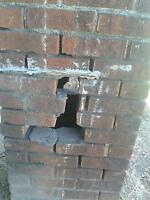 BRICK & PORCH REPAIR BY RETIRED MASON. HONEST PRICING.