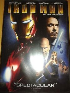 Marvel's Iron Man DVD Movie Cambridge Kitchener Area image 1
