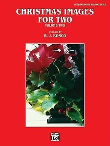 USED-VG-Christmas-Images-for-Two-Vol-2-by-B-J-Rosco
