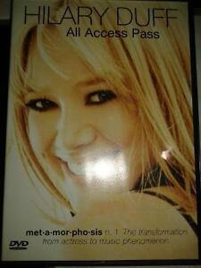 Hilary Duff All Access Pass DVD Cambridge Kitchener Area image 1