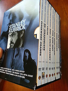 Stanley Kubrick DVD Limited Edition Box Collection for Sale.
