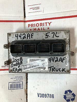 2008 08 Dodge Ram Truck 5.7L V8 ECU ECM PCM ENGINE COMPUTER 05094442AF 442
