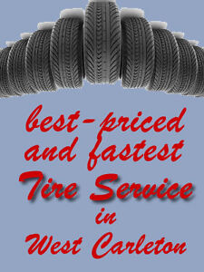 Tire Service - install or buy winter tires