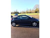 Peugeot 206cc sold as seen