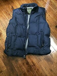 Eddie Bauer - Goose Down - Navy Blue - Winter Vest