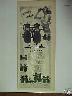 1948 Airguide Binocular-Glasses print ad